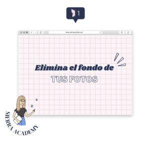 SIERRA ACADEMY ELIMINA EL FONDO DE TUS FOTOS - TUTORIAL DE DISEÑO GRÁFICO FÁCIL Y RÁPIDO