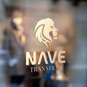 Diseño de Branding para Nave Transfers. Logo, moodboard, brandboard, paleta de colores, tipografias y plantillas para Instagram - Sierra Graphics