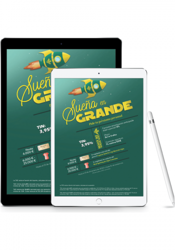 Diseño de cartel promocional para Caja Rural de Gijón y Real Sporting de Gijón - Sierra Graphics